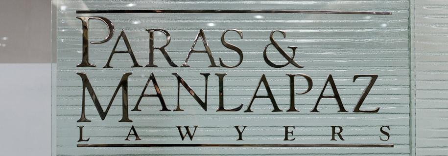 Paras & Manlapaz Lawyers | Logo